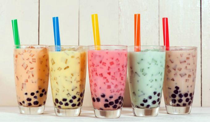 Theo Viện Khoa học hình sự một số chất ma tuý mới còn được pha vào trà sữa, nước uống có ga. Ảnh minh hoạ
