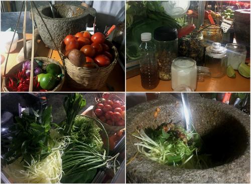 Đu đủ đâm - món ăn vặt Campuchia ở Sài Gòn - 1