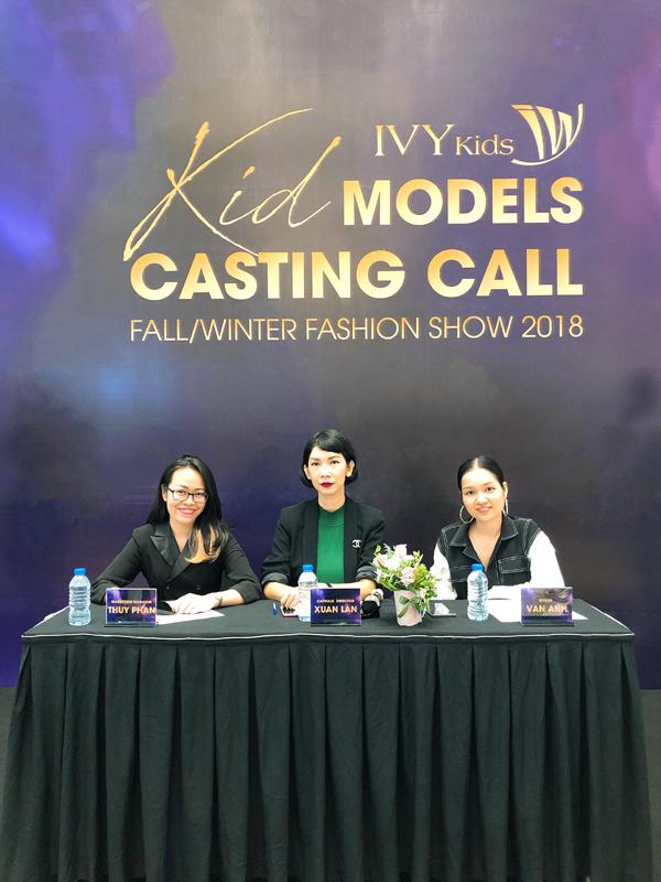 IVY moda casting dàn mẫu nhí, khởi động mùa mốt thu đông 2018 - ảnh 2