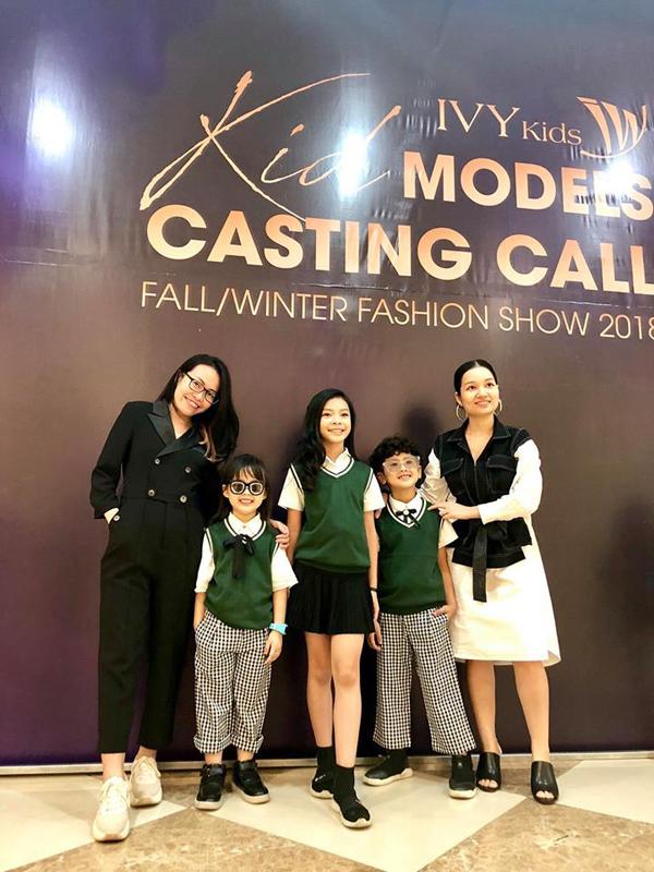 IVY moda casting dàn mẫu nhí, khởi động mùa mốt thu đông 2018 - ảnh 1