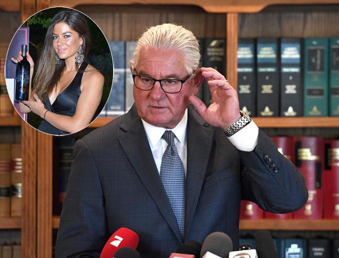 Luật sư Leslie Stovall - người đại diện pháp lý cho Kathryn Mayorga trong vụ kiện C. Ronaldo. Ảnh: The Sun.