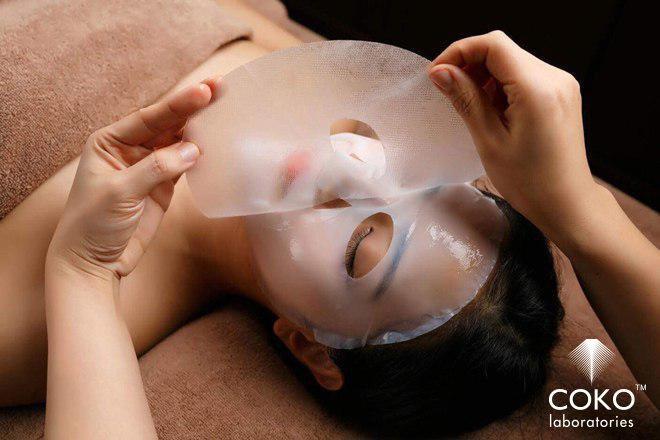 Nhã Phương dưỡng da bằng mặt nạ sinh học lên men từ nước dừa tươi - ảnh 3