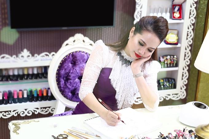Võ Hoàng Yến sẽ trình diễn bộ nail kim cương trị giá 100.000 USD - ảnh 5