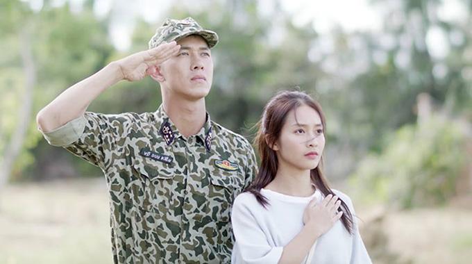 Song Luân và Khả Ngân là hai diễn viên chính của phim Hậu duệ mặt trời bản Việt.