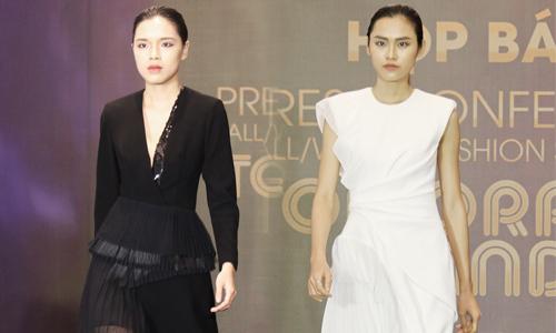 Trang phục đen trắng mang hơi thở Anh quốc trên sàn diễn Việt - Ngôi sao
