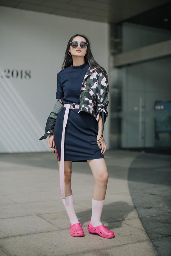 Chị gái Nam Em khoe street style cùng dàn thí sinh The Face - ảnh 9
