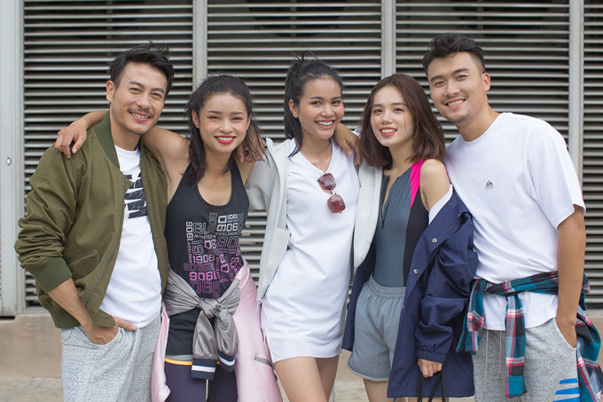Chị gái Nam Em khoe street style cùng dàn thí sinh The Face - ảnh 7
