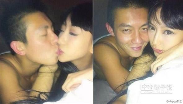 Tạ Chỉ Huệ và Trần Quán Hy thời điểm đang yêu nhau, năm 2010.