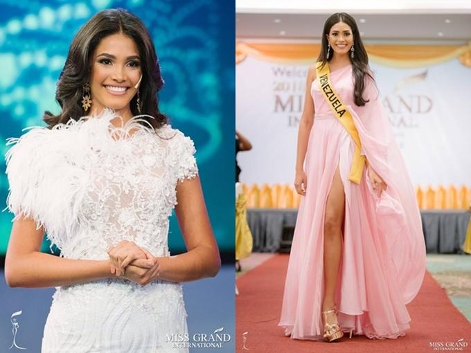 Annis Alvarez là đại diện của Venezuela, năm nay 20 tuổi và cao 1,79m. Người đẹp có thế mạnh kỹ năng trình diễn, sáng sân khấu nhưng không biết tiếng Anh, gặp nhiều khó khăn về giao tiếp.