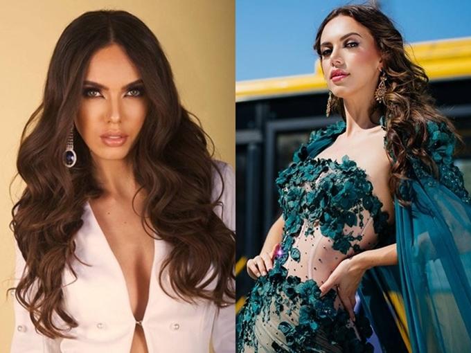 Hoa hậu Mexico - Lezly Díaz cũng ghi dấu ấn trong những ngày đầu tiên của cuộc thi. Người đẹp 23 tuổi, cao 1,73m.