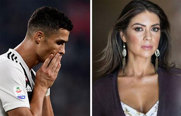 C. Ronaldo và cựu người mẫu Kathryn Mayorga, người tố cáo đã bị anh cưỡng dâm tại Las Vegas năm 2009.