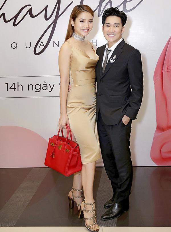 Phương Trinh Jolie mừng đàn anh có sản phẩm mới được đầu tư công phu.