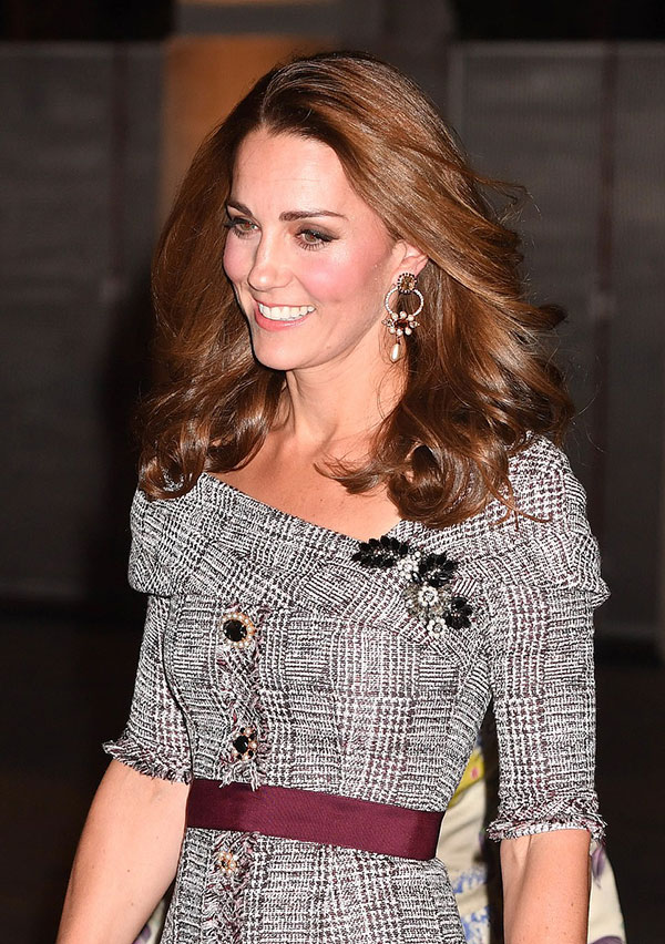 Duchess of Cambridge stuns in Erdem as she opens new V&A photography centre - two days before George and Charlottes starring role in the second royal wedding of the year - 3