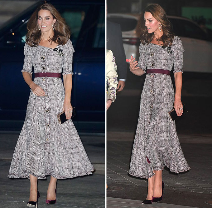 Duchess of Cambridge stuns in Erdem as she opens new V&A photography centre - two days before George and Charlottes starring role in the second royal wedding of the year - 5