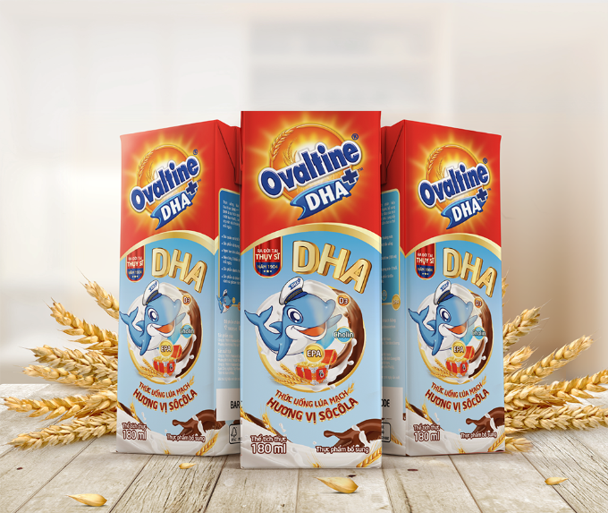 Ovaltine ra mắt thức uống ca cao lúa mạch bổ sung DHA - ảnh 1
