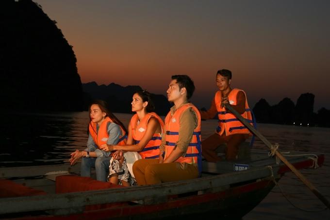 Hồ Ngọc Hà khám phá Hạ Long cùng giám khảo Asias Next Top - 6
