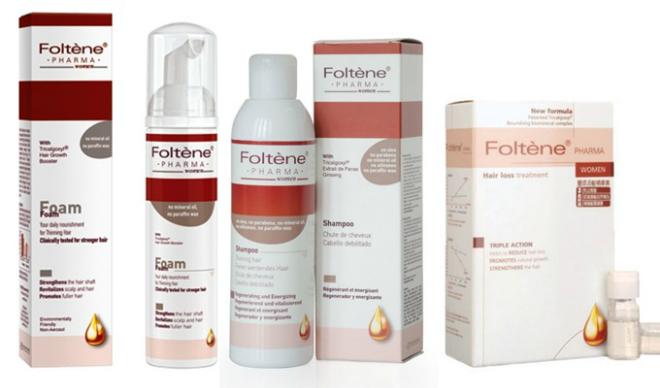Bộ sản phẩm hỗ trợ chữa trị hói đầu, ngăn ngừa rụng tóc.
