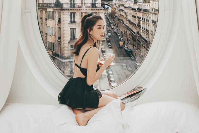 Cô khá hài lòng với cuộc sống hiện tại. Có bạn trai đại gia nhưng Ngọc Trinh vẫn tự kinh doanh shop thời trang và mới nhận lời đảm đương vị trí CEO của một tập đoàn mỹ phẩm. Cô kiếm thu nhập khủng háng tháng nên chi tiêu khá thoải mái.