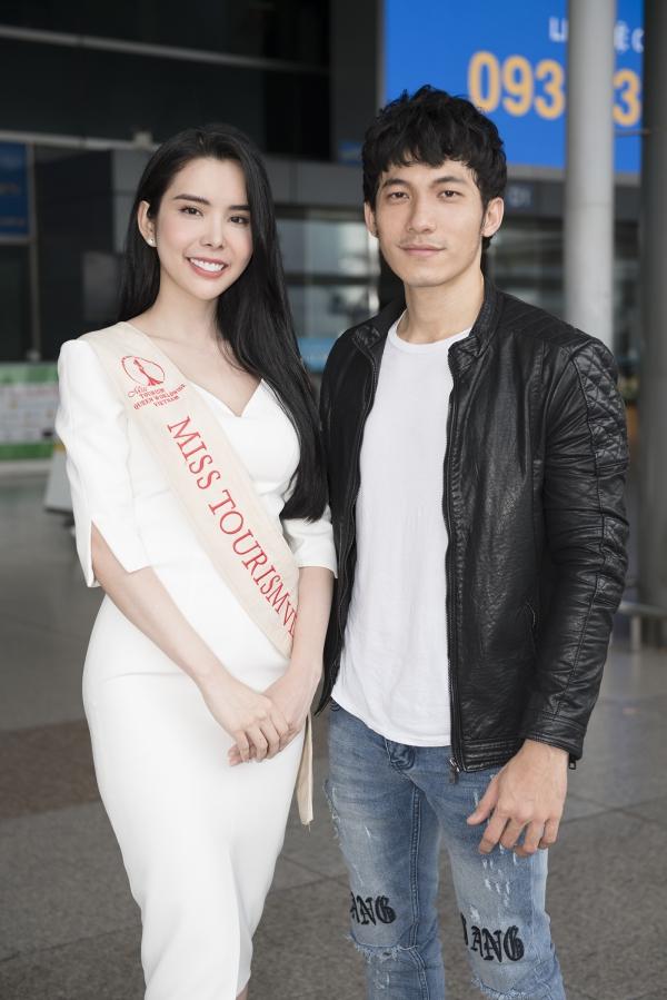 Liên Bỉnh Phát tiễn người đẹp Huỳnh Vy đi thi quốc tế - 1