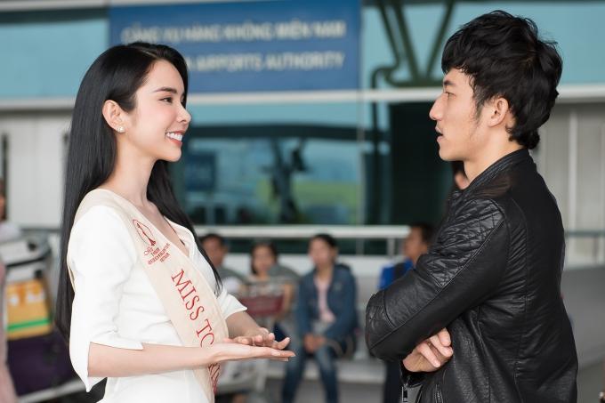 Liên Bỉnh Phát tiễn người đẹp Huỳnh Vy đi thi quốc tế - 2