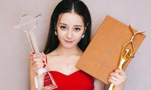 Địch Lệ Nhiệt Ba bị chỉ trích khi nhận giải 'Nữ diễn viên được yêu thích'