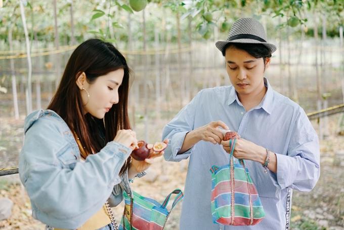 Diễm My, Quang Vinh học cách làm trà sữa Đài Loan - 4