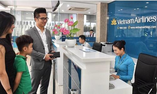 Hành khách của Vietnam Airlines có thể check in trong thành phố