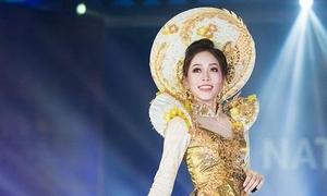 Trang phục truyền thống của Phương Nga đứng nhì bình chọn tại Miss Grand