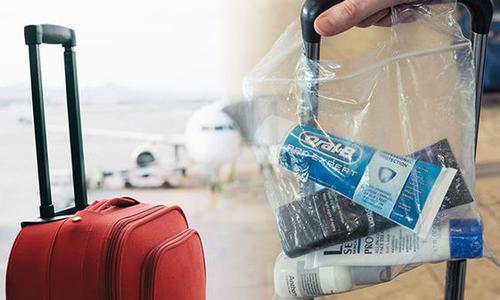 Vì sao chất lỏng bị cấm nhưng mua ở quầy miễn thuế lại được mang lên máy bay?