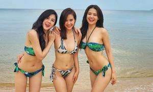 Phương Anh 'Ghét thì yêu thôi' đọ dáng với hai cô bạn thân