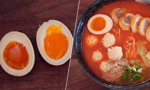 Mẹo luộc trứng làm mì ramen đạt cảnh giới như người Nhật