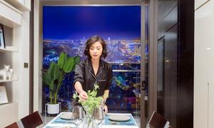 Ngô Thanh Vân thích không gian sống đa tiện ích trong căn hộ thông minh