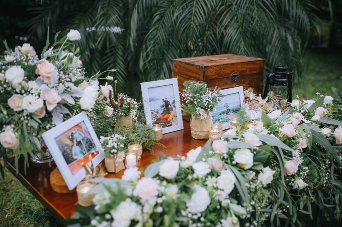 Đám cưới rustic với cúc họa mi giữa ngày đông