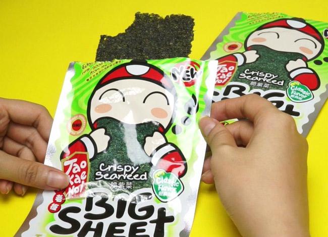 Snack Taokaenoi trở thành món ăn vặt yêu thích của người Thái. Ảnh: Bangkok Post.