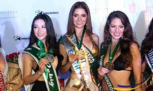 Phương Khánh giành huy chương Bạc phần thi Áo tắm tại Miss Earth