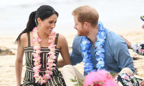 Vợ chồng Harry thuê vú em nổi tiếng người Mỹ chăm con