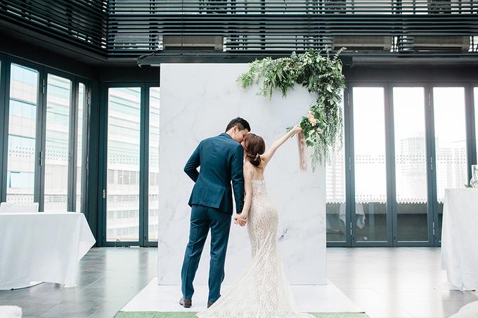 Đám cưới minimalist của uyên ương Malaysia