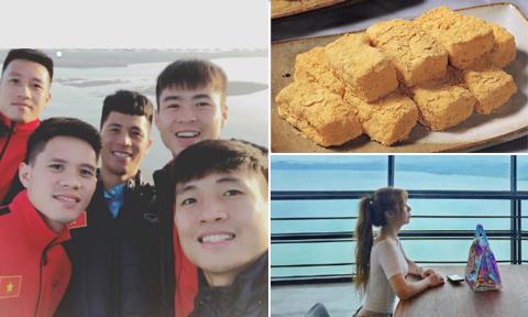Ăn bánh gạo, 'bám càng' tuyển Việt Nam thăm đài quan sát ở Hàn Quốc