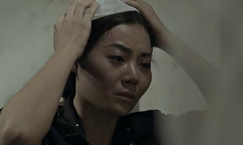 Thanh Hương mệt vì phải diễn 10 lần cảnh Lan Cave tháo khăn tang