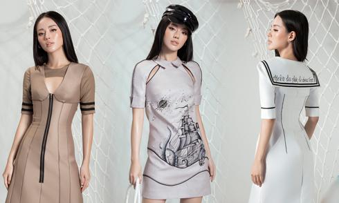 Đỗ Long giới thiệu các mẫu váy ngắn cho tiệc mùa thu