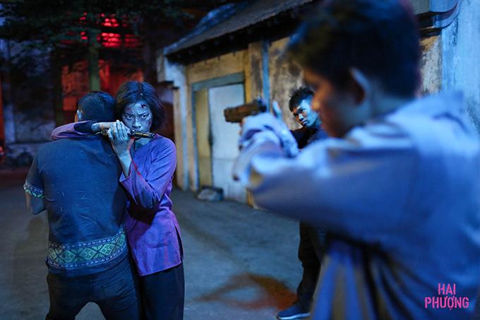 Một phân cảnh bắn súng trong phim