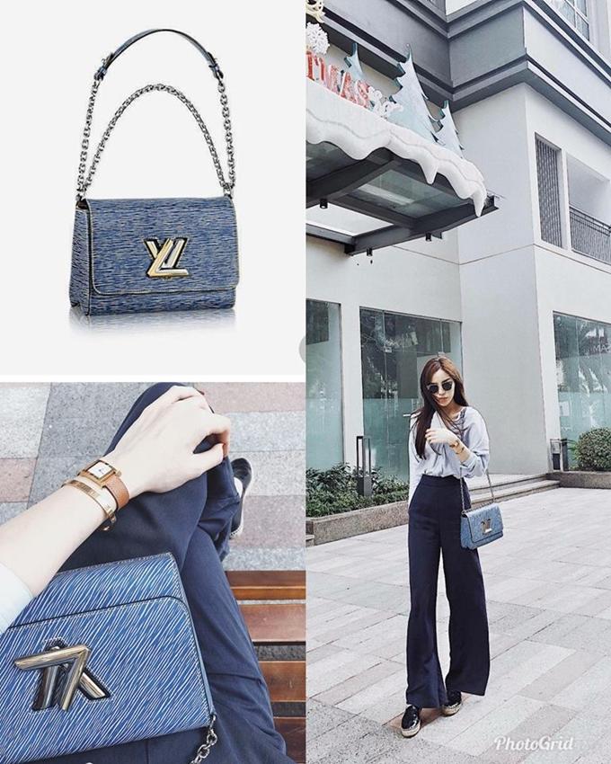 Chiếc túi Louis Vuitton Twist MM Denim có giá đến 60 triệu đồng được bán chỉ sau vài ngày rao bán.