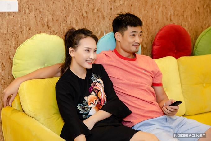 Từ mùa thu năm ngoái, Bảo Thanh đã dọn về căn chung cư mà vợ chồng cô mua sau nhiều năm tích góp.