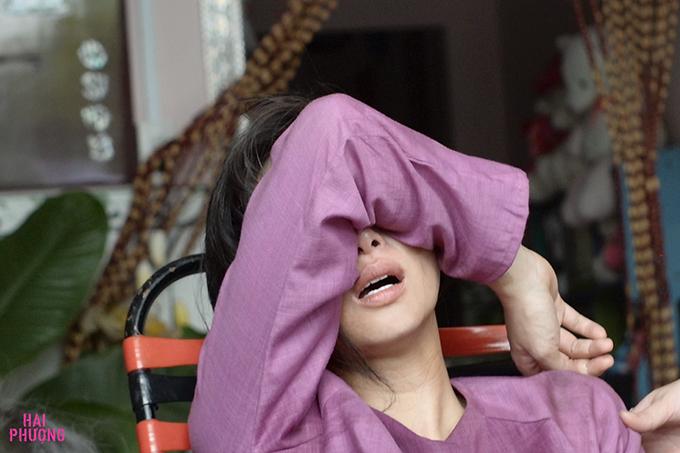 Ngô Thanh Vân khóc khi gặp tai nạn trên trường quay