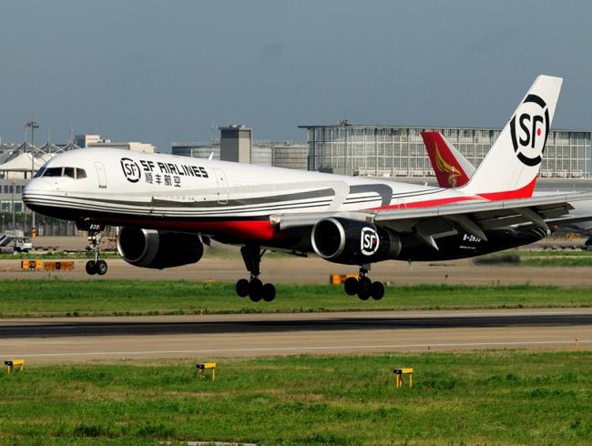 Máy bay vận chuyển của hãng SF Express. Ảnh: Ecommer IQ.