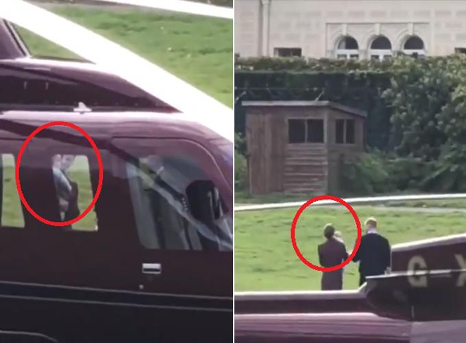Hoàng tử Louis đi trực thăng cùng bố mẹ về Điện Kensington - ảnh 1