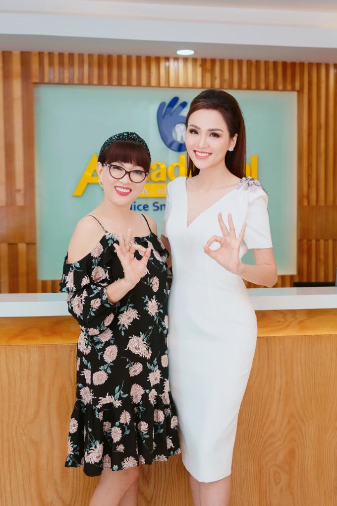 Nghệ sĩ Phương Dung cũng là khách hàng thân thiết của phòng nha Anna do Hoa hậu Diễm Hương làm chủ. Côđánh giá cao đội ngũ bác sĩgiàu kinh nghiệp, chuyên môn, cùng nguồnnguyên liệunhập trực tiếp từĐức và Thuỵ Sĩ của phòng khám.
