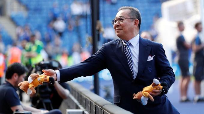 Tỷ phú hàng miễn thuế Tháimua Leicester City năm 2010 với giá bằng 1 phần 10 hiện tại. Ảnh: Sky News.