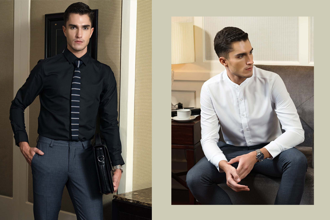 Áo sơ mi trắng và đen Aristino mang đến hai phong cách hoàn toàn khác nhau. Nếu áo sơ mi trắng giúp bạn trong trẻ hơn tuổi ngoài thì sơ mi đen lại mang đến phong cách cuốn hút, bí ẩn cho bạn. Áo có giá bán