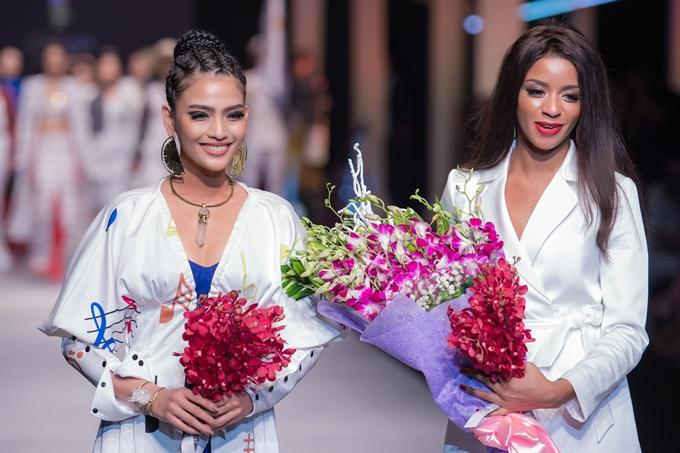 Trương Thị May đọ dáng Á hậu Hoàn vũ 2016 - 7